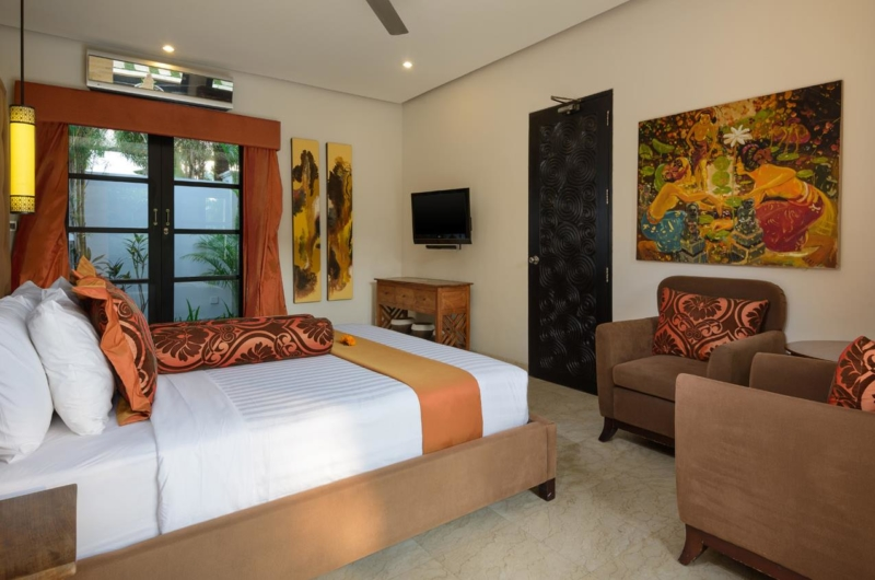 Bedroom with Seating Area - Villa Amman Residence - Seminyak, Bali