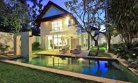Pool at Night - Villa Amore - Seminyak, Bali