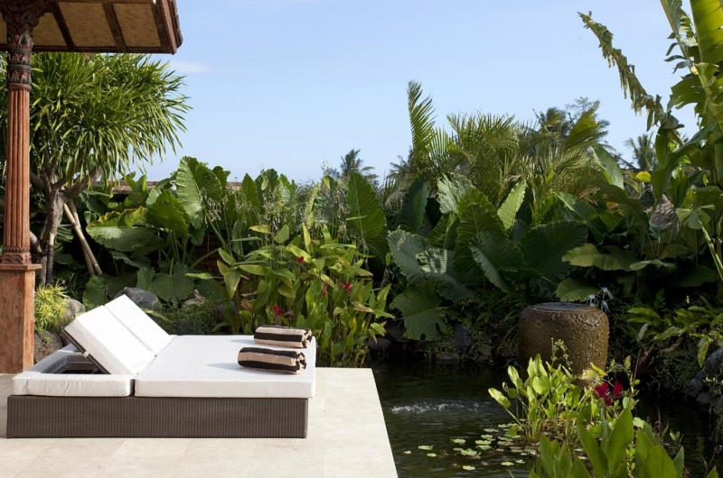 Sun Beds with View - Villa Amy - Canggu, Bali