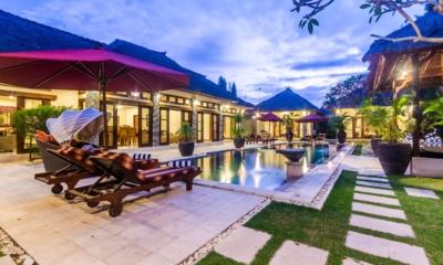 Swimming Pool at Night - Villa An Tan - Seminyak, Bali