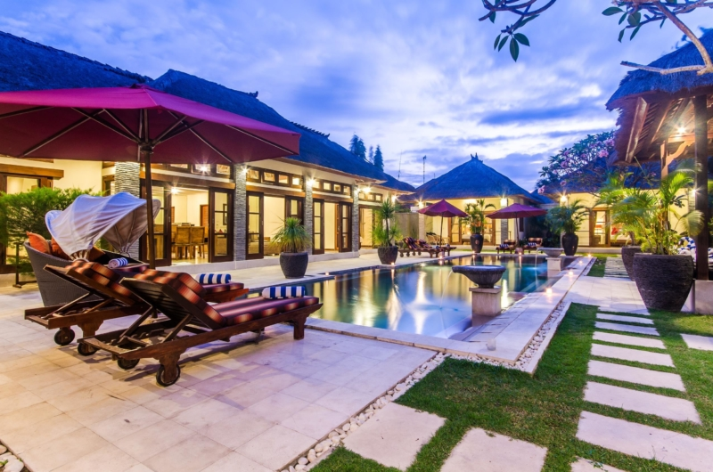 Swimming Pool at Night - Villa An Tan - Seminyak, Bali