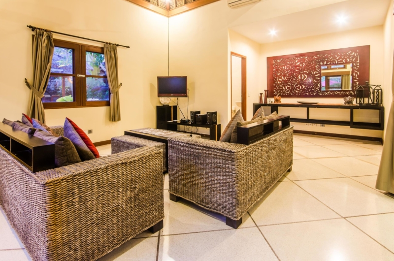 Lounge Area with TV - Villa An Tan - Seminyak, Bali