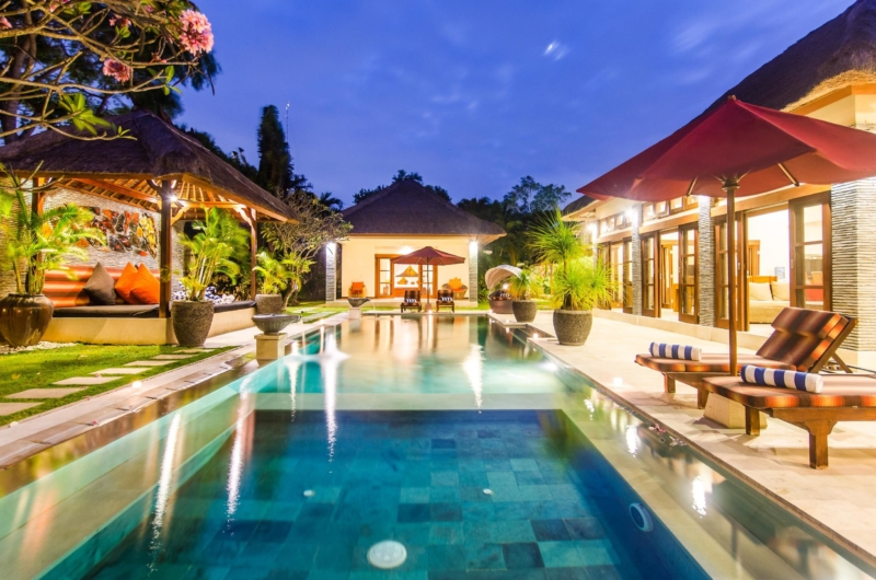 Pool at Night - Villa An Tan - Seminyak, Bali