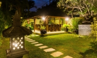 Outdoor Area at Night - Villa An Tan - Seminyak, Bali
