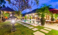 Gardens and Pool at Night - Villa An Tan - Seminyak, Bali