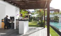Pool Side Barbeque - Villa Anam - Seminyak, Bali