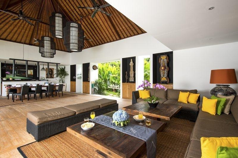 Living and Dining Area - Villa Anam - Seminyak, Bali