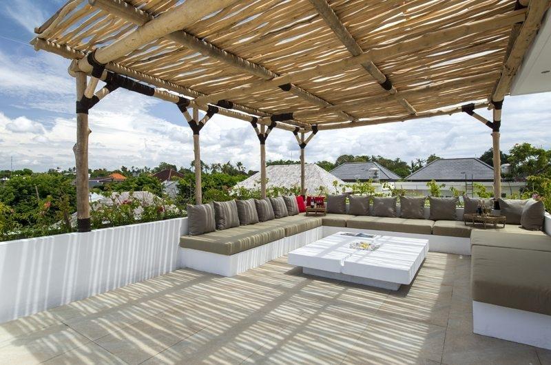 Lounge at Terrace - Villa Anam - Seminyak, Bali