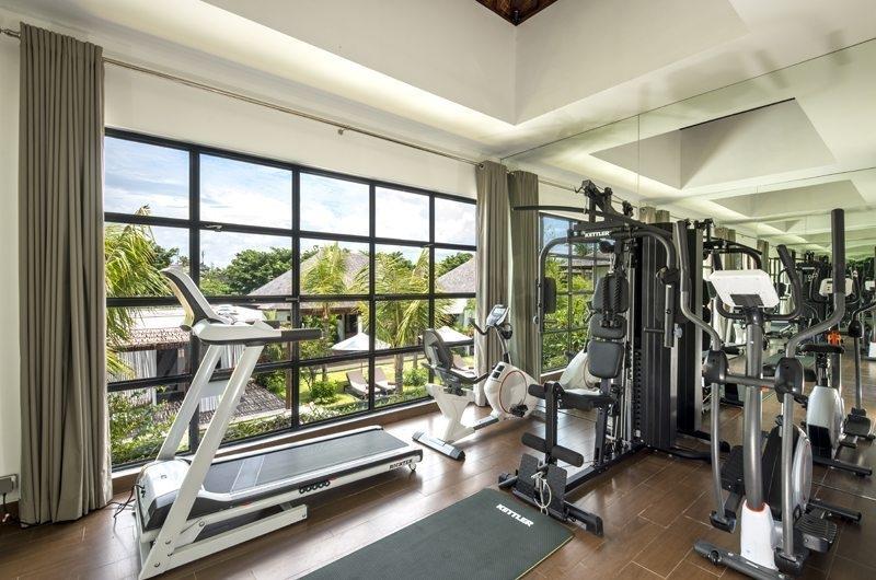 Gym - Villa Anam - Seminyak, Bali