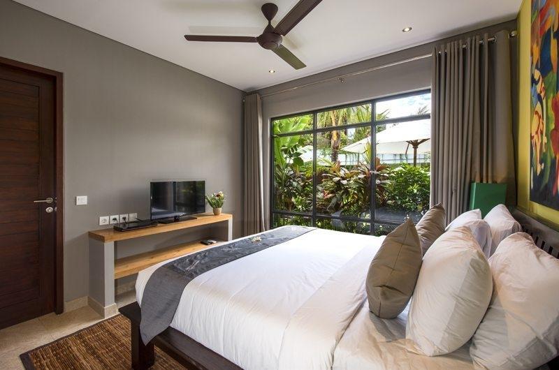 Bedroom with Garden View - Villa Anam - Seminyak, Bali