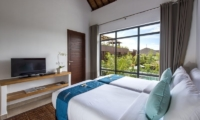 Twin Bedroom with TV - Villa Anam - Seminyak, Bali
