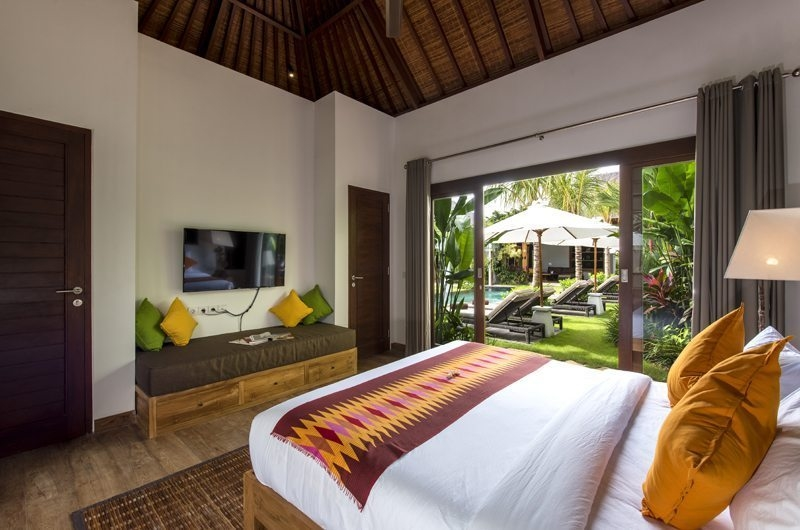 Bedroom with Pool View - Villa Anam - Seminyak, Bali