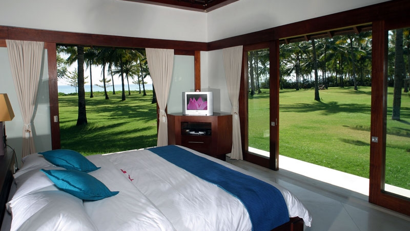 Bedroom with Garden View - Villa Anandita - Lombok, Indonesia