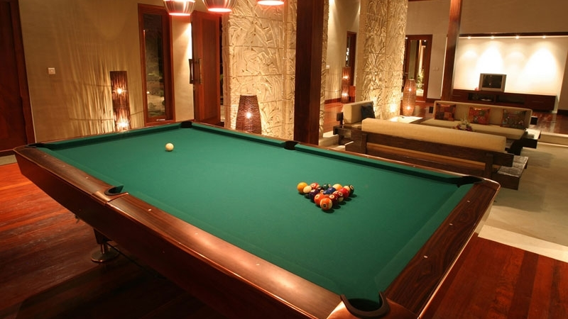 Billiard Table - Villa Anandita - Lombok, Indonesia