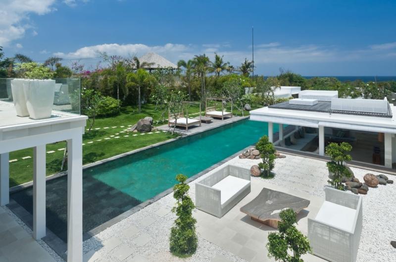 Gardens and Pool - Villa Anucara - Seseh, Bali