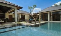 Pool Side Loungers - Villa Arama Riverside - Seminyak, Bali