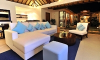 Living Area at Night - Villa Arama Riverside - Seminyak, Bali