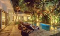 Pool at Night - Villa Arria - Seminyak, Bali