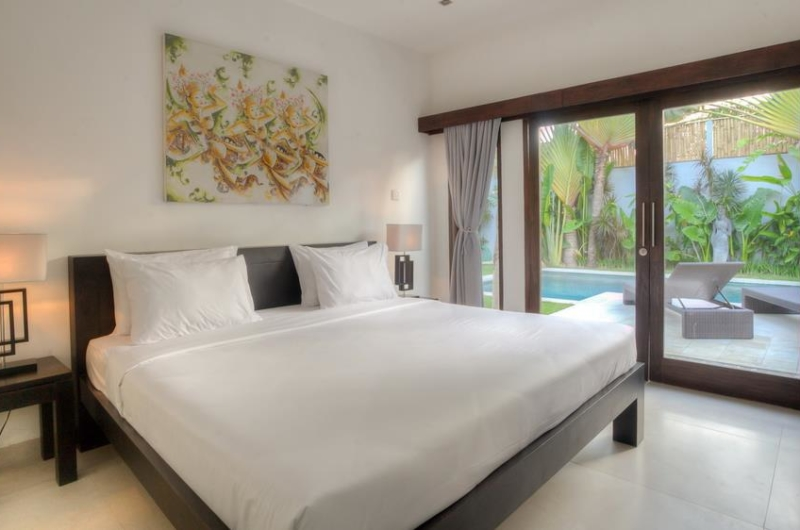 Bedroom with Pool View - Villa Arria - Seminyak, Bali