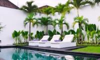 Pool Side Loungers - Villa Arta - Seminyak, Bali