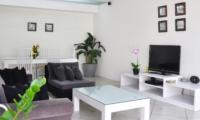 Living Area with TV - Villa Arta - Seminyak, Bali