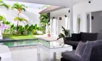 Living Area with View - Villa Arta - Seminyak, Bali