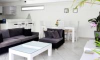 Living and Dining Area - Villa Arta - Seminyak, Bali