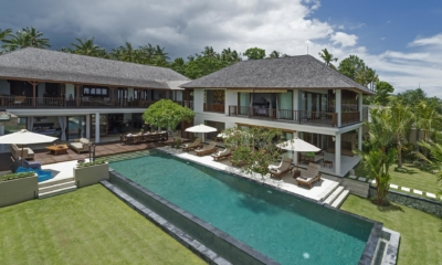 Gardens and Pool - Villa Asada - Candidasa, Bali