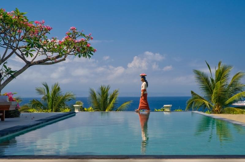 Pool Side - Villa Asada - Candidasa, Bali