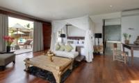 Bedroom with Sofa - Villa Asada - Candidasa, Bali