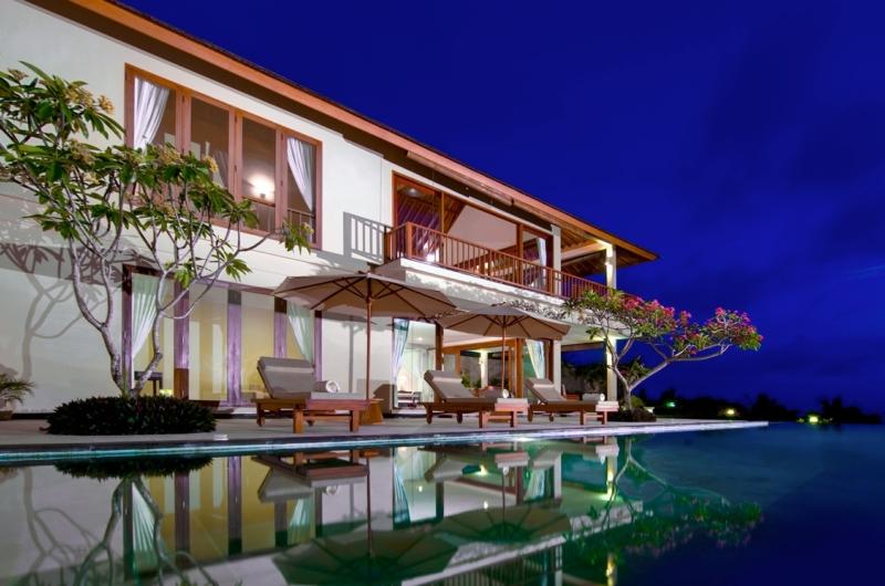 Pool at Night - Villa Asada - Candidasa, Bali