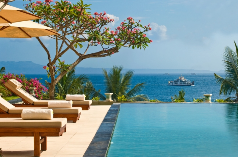 Reclining Sun Loungers - Villa Asada - Candidasa, Bali