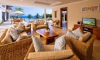 Living Area with TV - Villa Asada - Candidasa, Bali