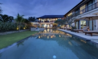 Swimming Pool at Night - Villa Asada - Candidasa, Bali