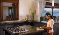 Kitchen Area - Villa Asada - Candidasa, Bali