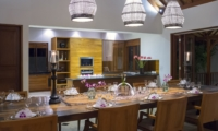 Kitchen and Dining Area - Villa Asada - Candidasa, Bali