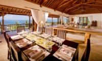 Living and Dining Area - Villa Asada - Candidasa, Bali