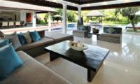 Living Area with Pool View - Villa Asante - Canggu, Bali
