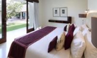 Bedroom with Pool View - Villa Asante - Canggu, Bali