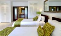 Twin Bedroom with Bathroom - Villa Asante - Canggu, Bali