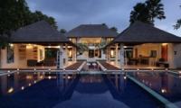 Outdoor Area at Night - Villa Asante - Canggu, Bali