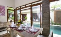 Dining Area - Villa Ashna - Seminyak, Bali