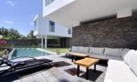 Sun Loungers - Villa Ashoka - Canggu, Bali