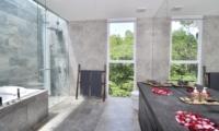 Romantic Bathroom Set Up - Villa Ashoka - Canggu, Bali
