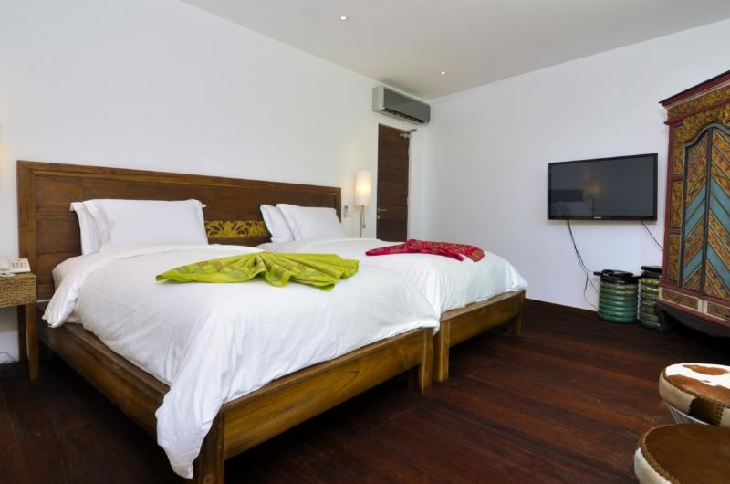 Twin Bedroom - Villa Ashoka - Canggu, Bali