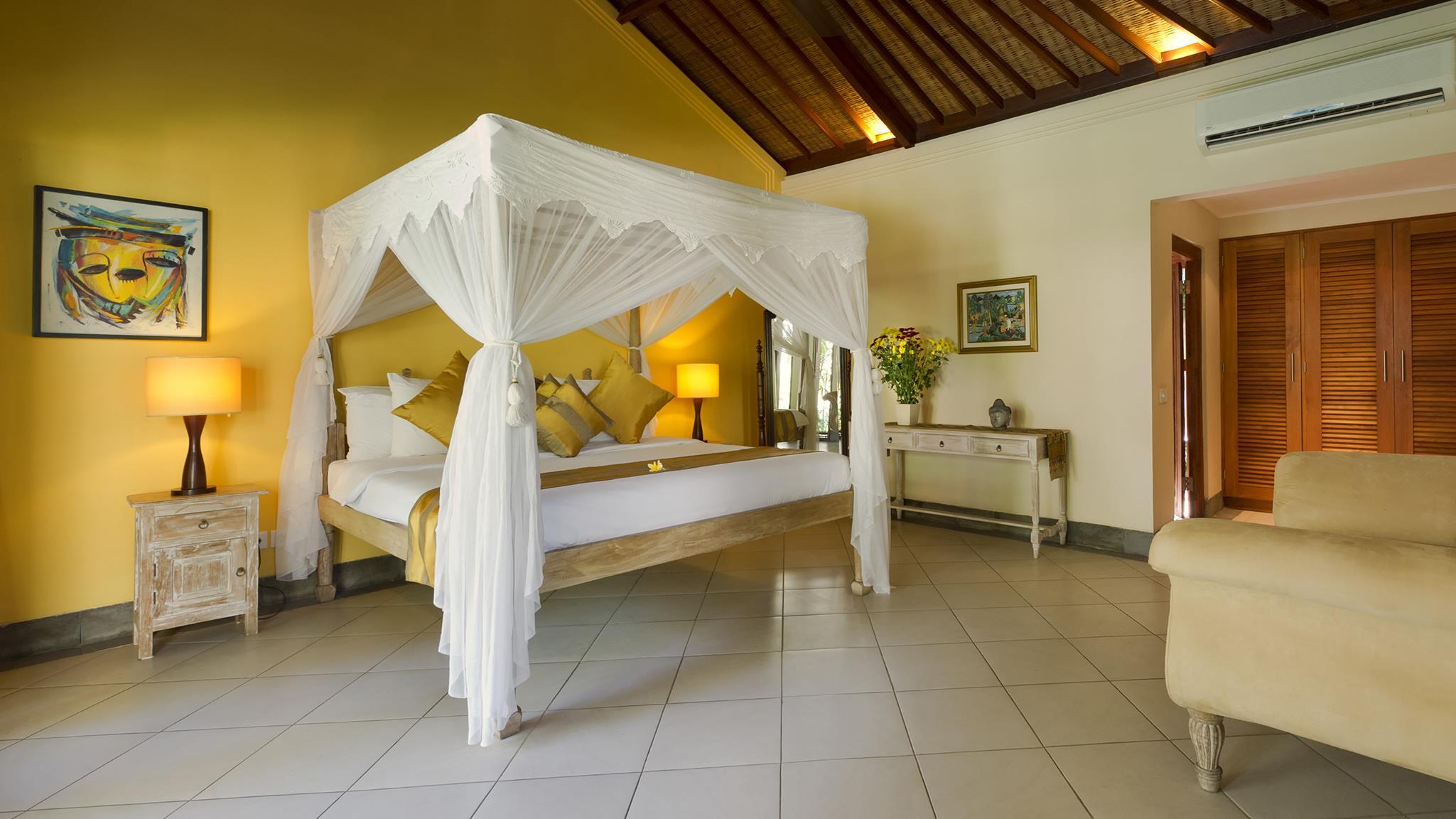 Bedroom - Villa Asmara - Seseh, Bali