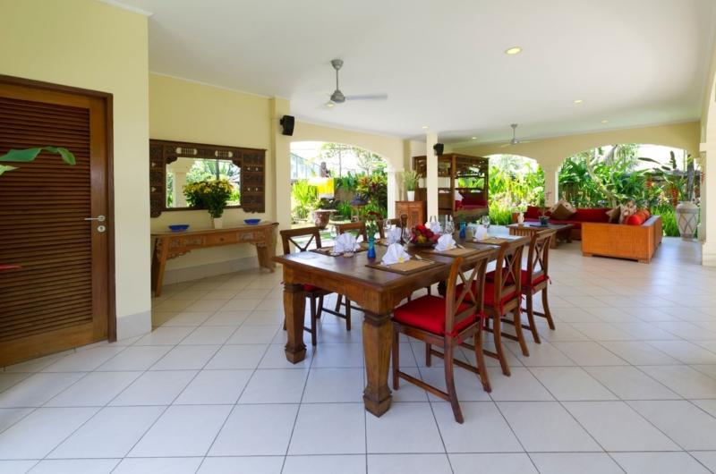 Dining Area - Villa Asmara - Seseh, Bali