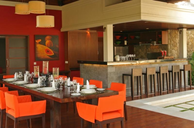 Dining Area - Villa Asta - Batubelig, Bali