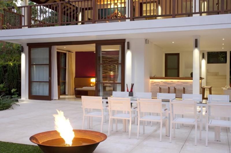 Outdoor Dining - Villa Atacaya - Seseh, Bali