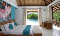 Bedroom with Study Table - Villa Atacaya - Seseh, Bali